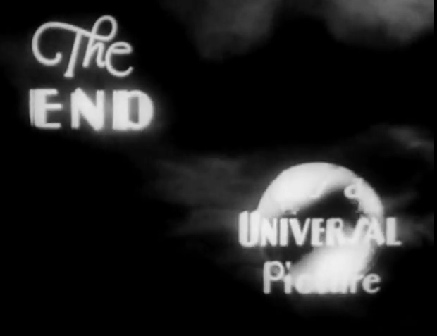 The End It's A Universal Picture (1933)