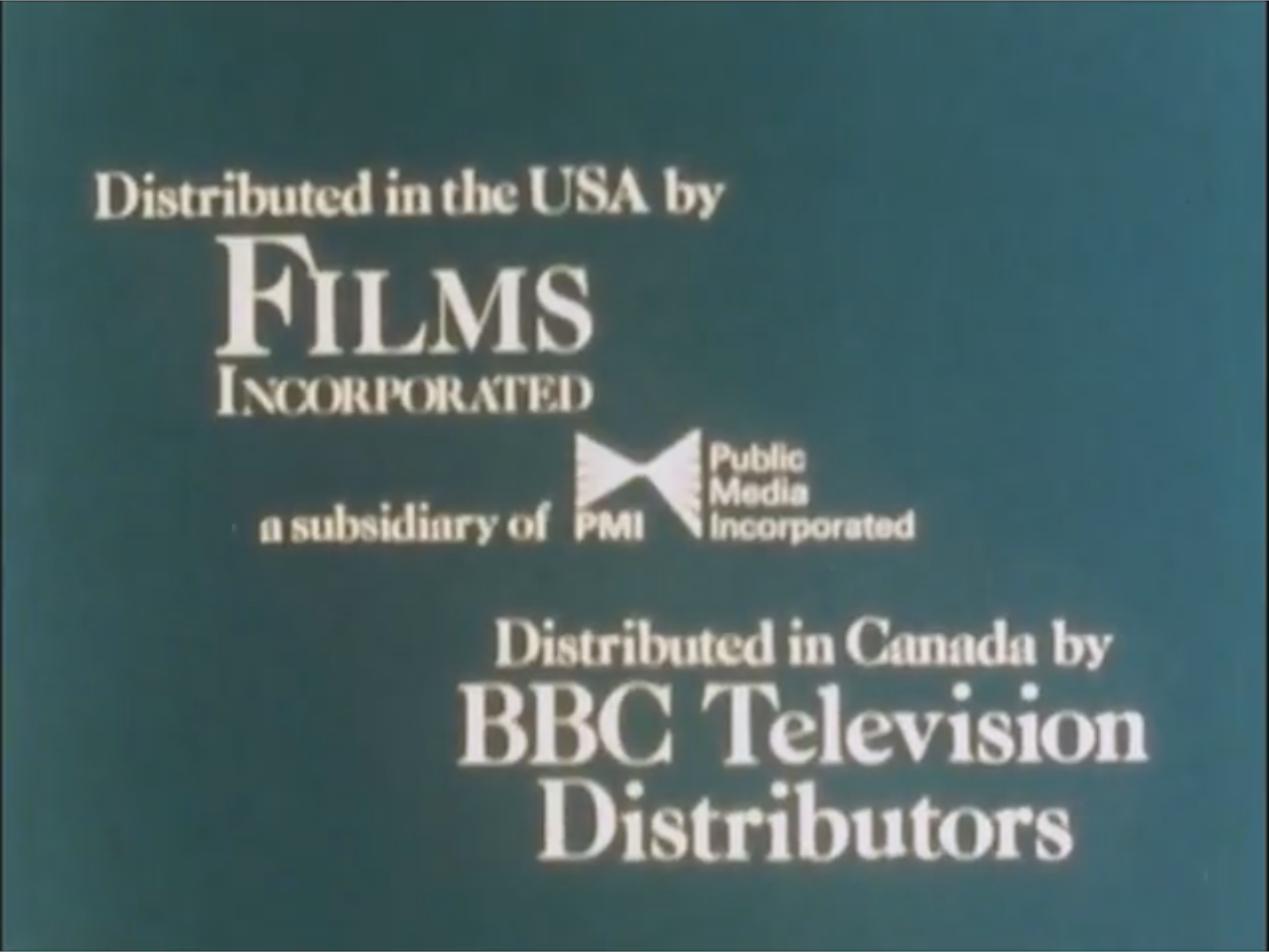 Films Incorporated (1970's-1980's) G
