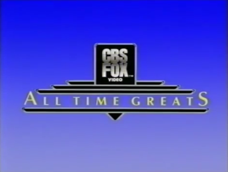 CBS/Fox Video All Time Greats logo (Opening)