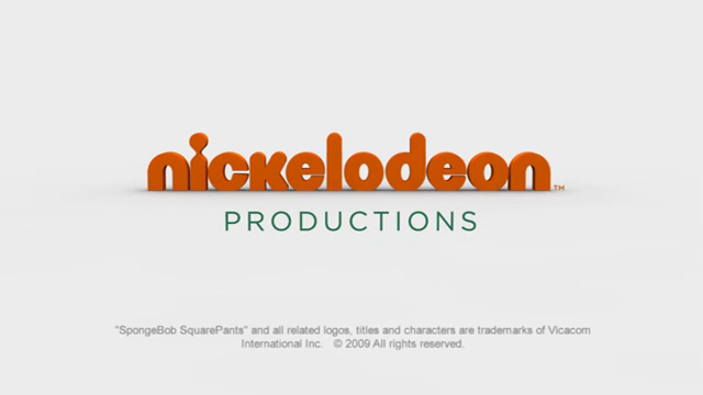 Nickelodeon Productions (2009, Copyright Typo)