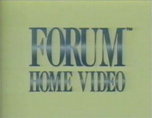 Forum Home Video (1980's)