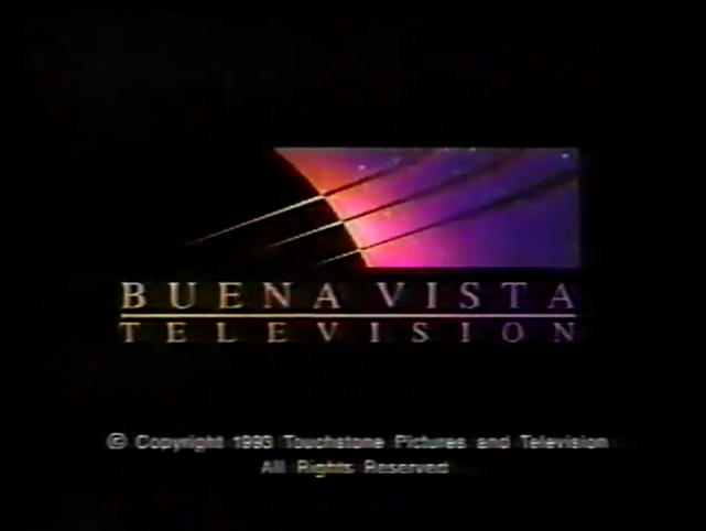 Buena Vista Television (1995, w/ 1993 Touchstone TV copyright stamp)