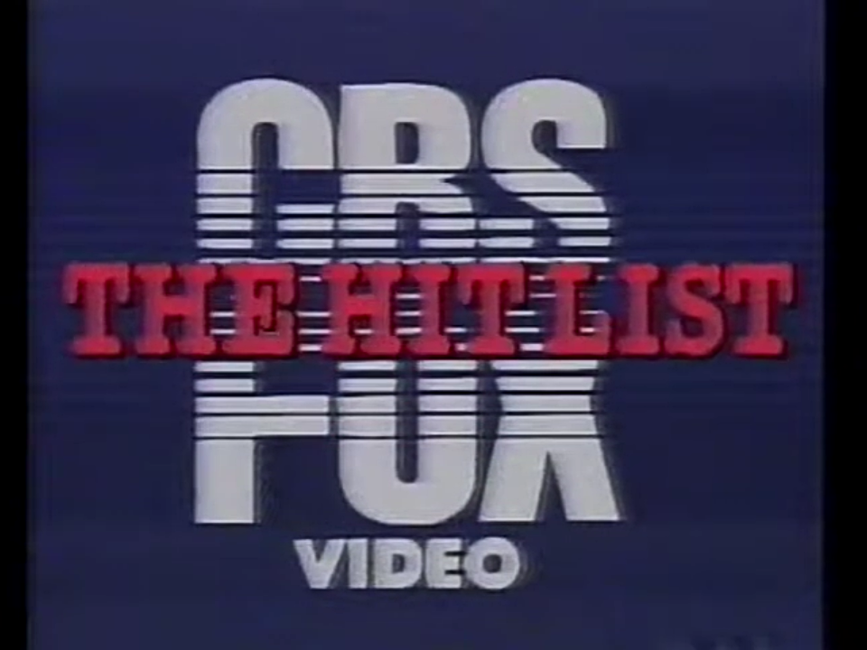 CBS/FOX Video (The Hit List variant, 1980's) (opening)