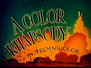 Columbia Color Rhapsody title (Scrappy variant)
