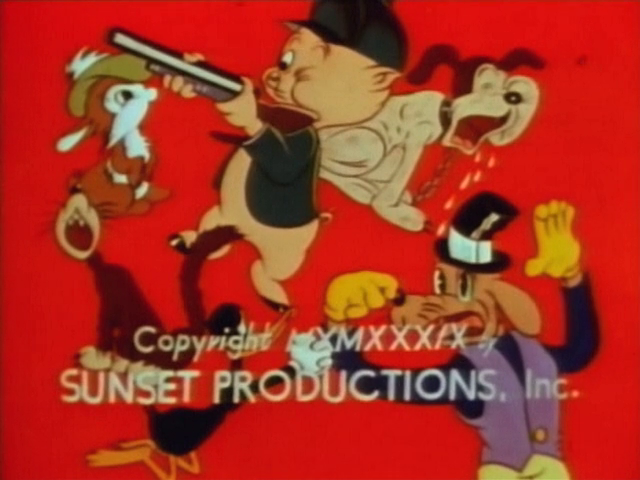 Sunset Productions (1950s, redrawn colorized)