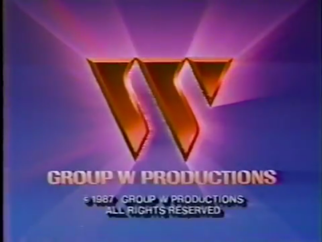 Group W Productions (1987) w/ Copyright notice
