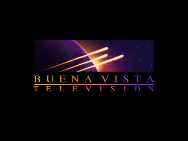 Buena Vista Television (1997, yellow comet highlights)