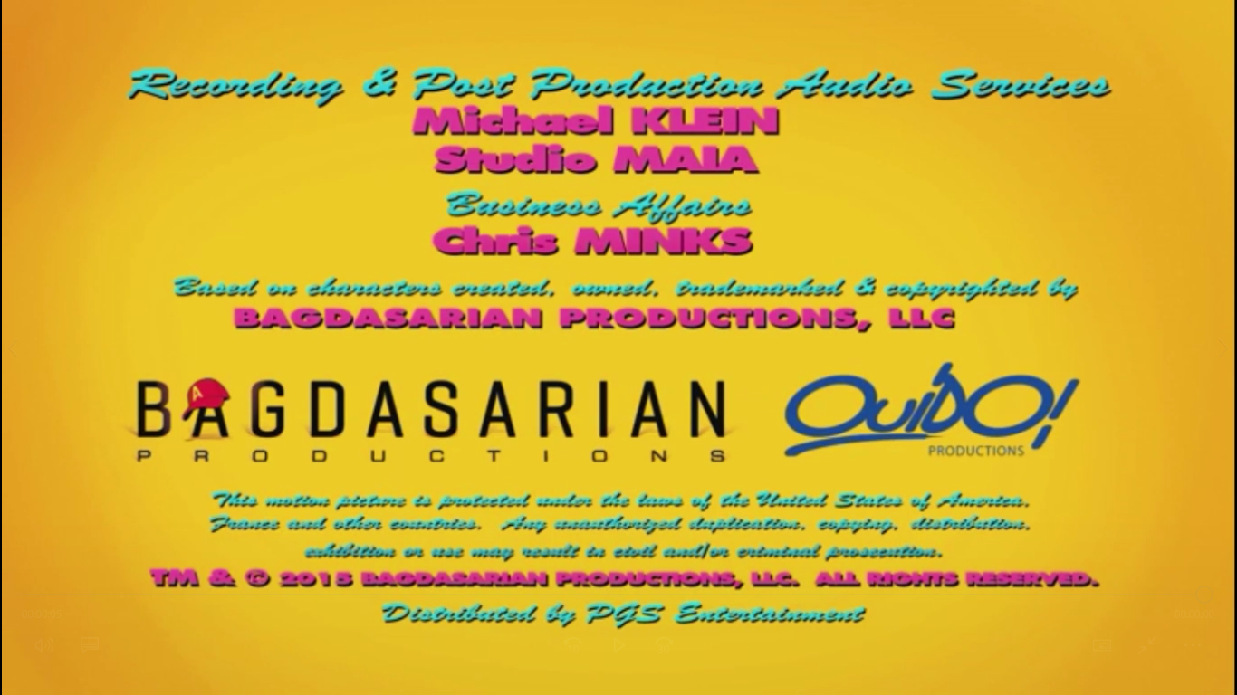 Bagdasarian Productions/OuiDO! Productions (2015)