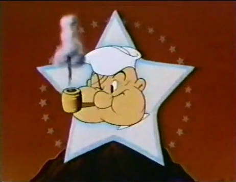 Popeye spinning star