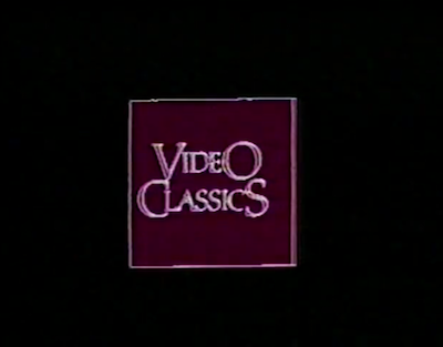 Video Classics (earliest known logo)
