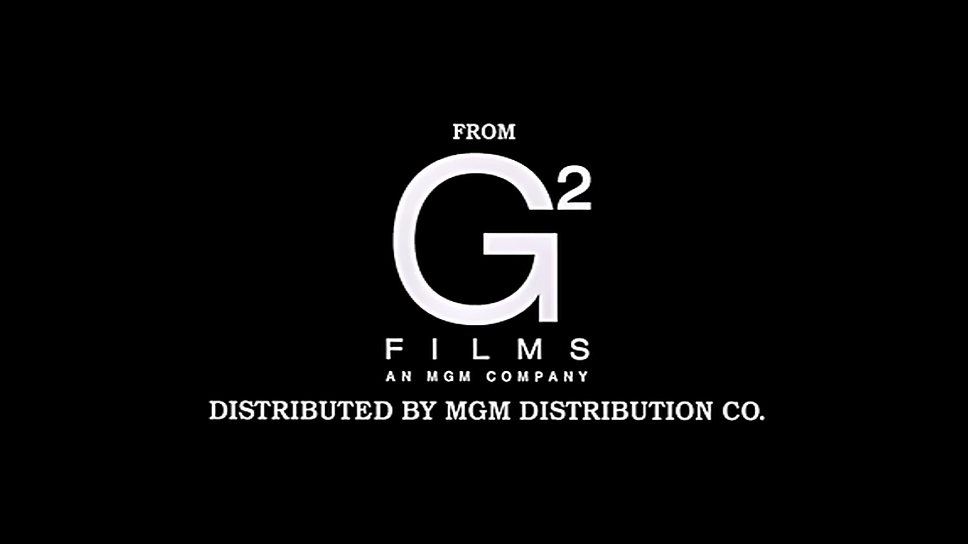 G2 Films (1999) - In-credit