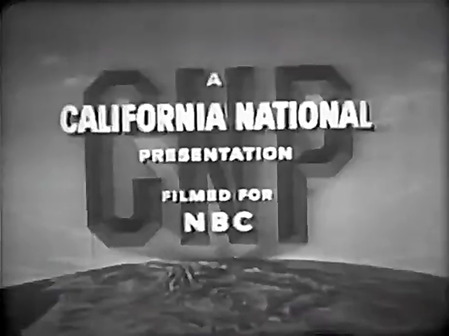California National Productions/NBC Television Network (1956)