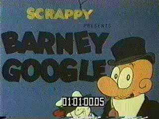 Barney Google opening title