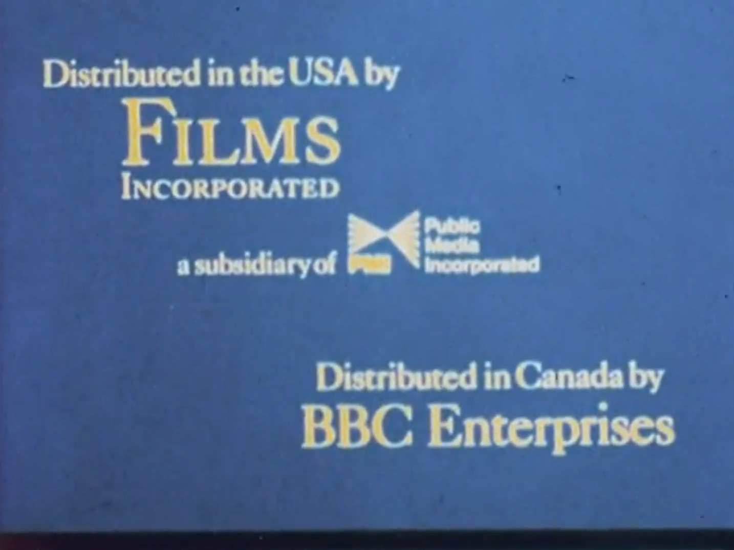 Films Incorporated (1970's-1980's) C