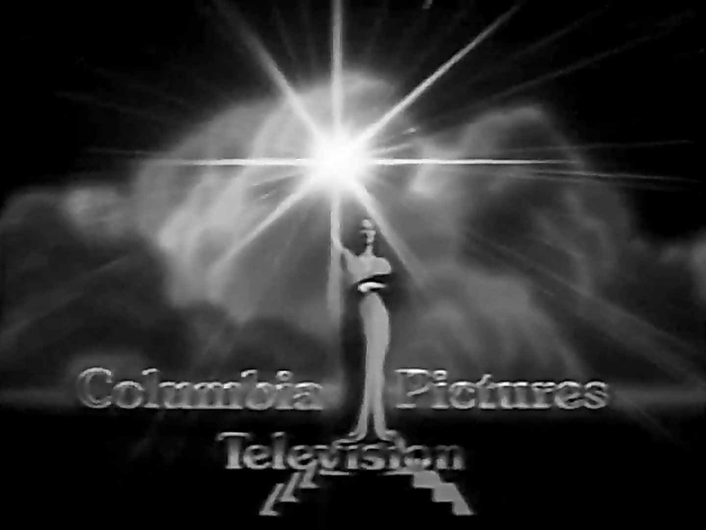 Columbia Pictures Television (1991) B&W