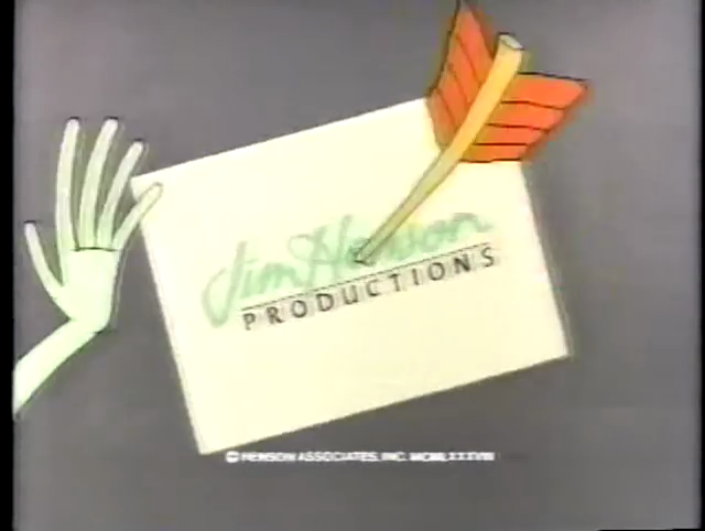 Jim Henson Productions (1988, w/ copyright stamp)