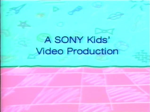 Sony Kids' Video (in-credit) (Early 90s)