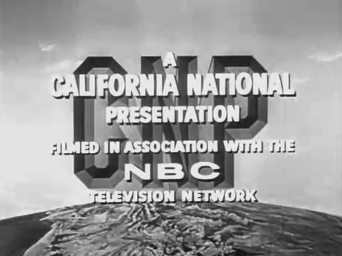 California National Productions/NBC Television Network (1959)