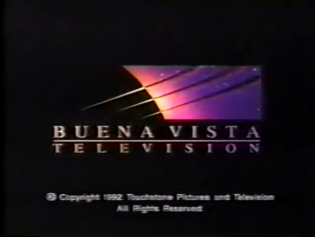 Buena Vista Television (1995, w/ 1992 Touchstone TV copyright stamp)