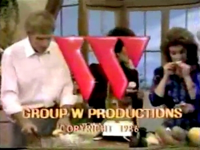 Group W Productions (1986, Superimposed)