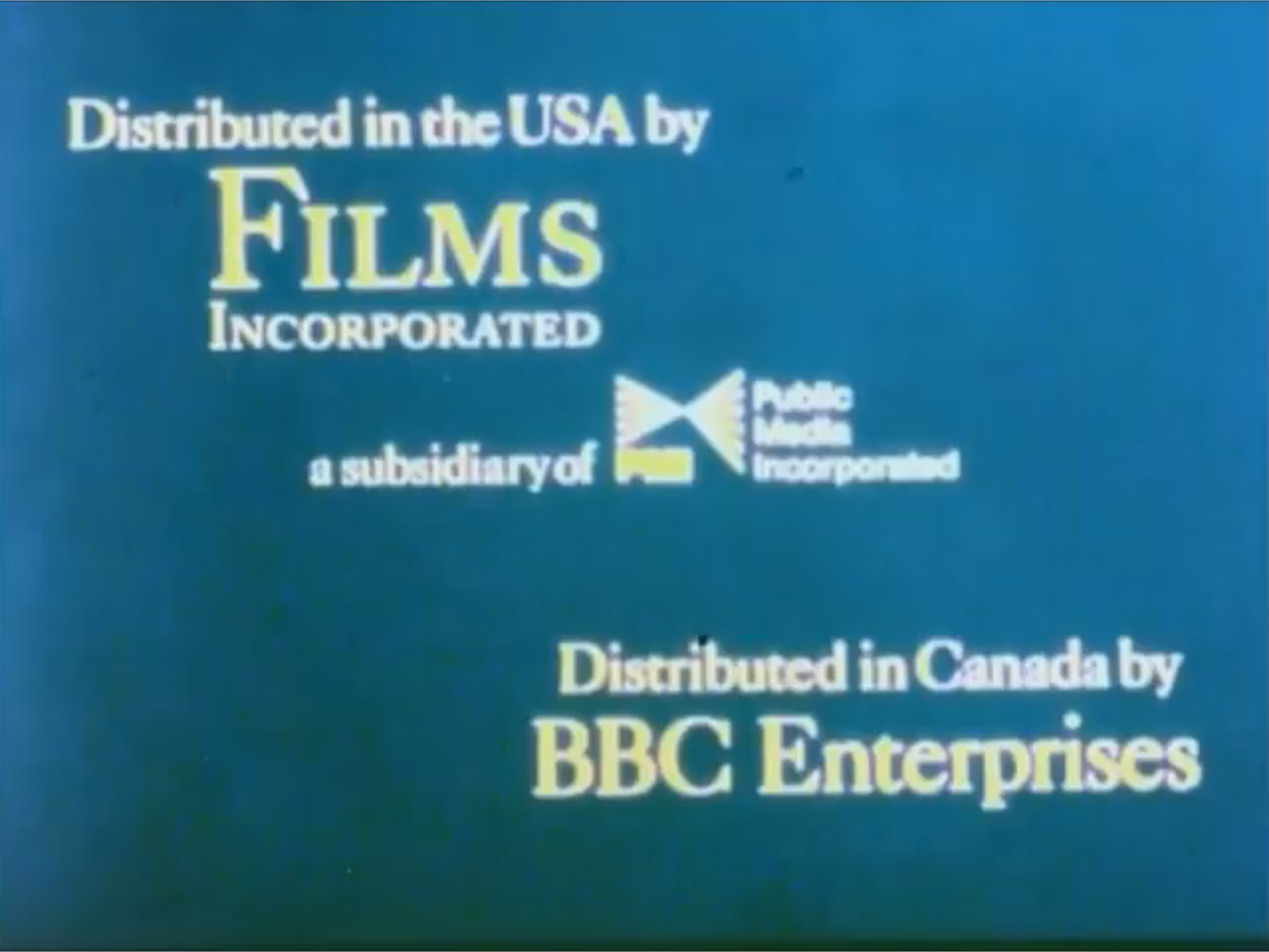 Films Incorporated (1970's-1980's) F