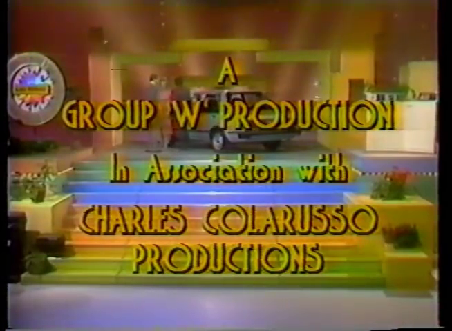 Group W / Charles Colarusso Productions (1985, in-credit)