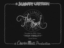 Scrappy end titles (1934-1939)