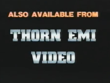 Also Available from Thorn EMI Video Bumper