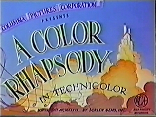 Color Rhapsodies opening (1940-1942)