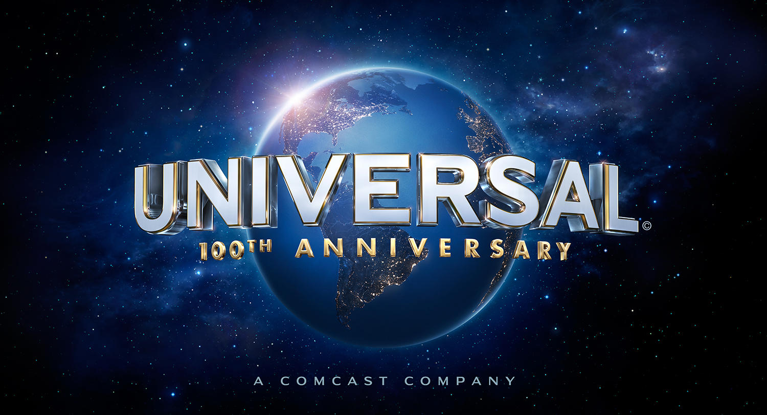 Universal Studios official 100th anniversary logo