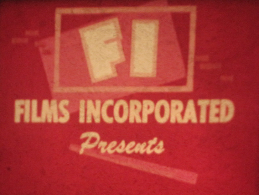 Films Incorporated 1st logo (Sepia toned)