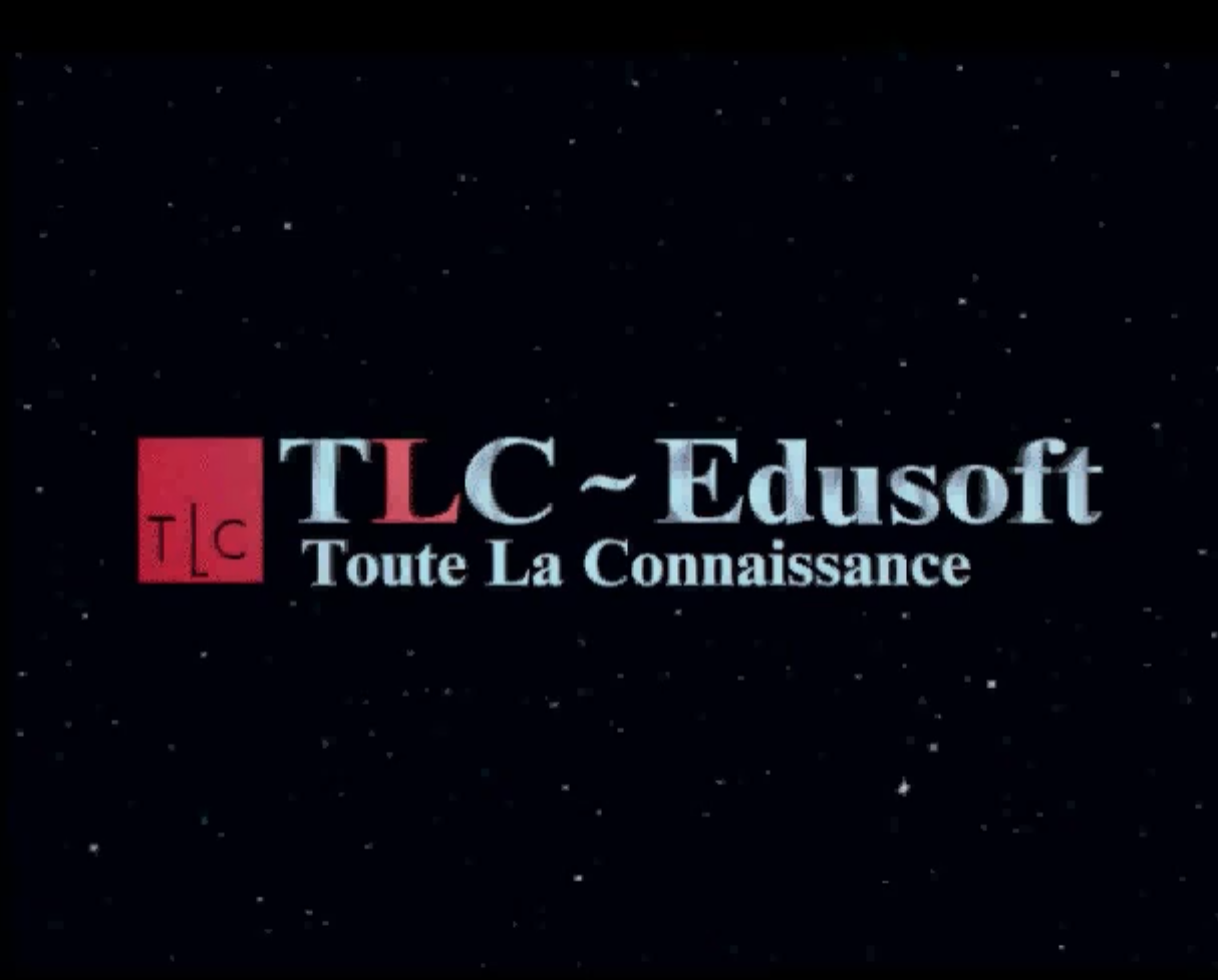 TLC-Edusoft, FR: The Learning Company.