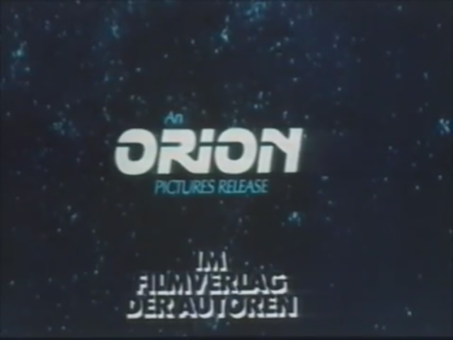 Orion Pictures (German Opening Variant) (1983)