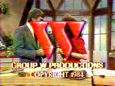 "Group W Productions Superimposed ""Flashing W"" (1984)"