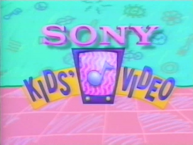 Sony Kids' Video (Early 90s)