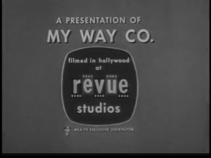 Revue Studios (1958) (with My Way Co.)