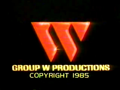 "Group W Productions ""Flashing W"" (With Copyright Info Variant, 1985)"