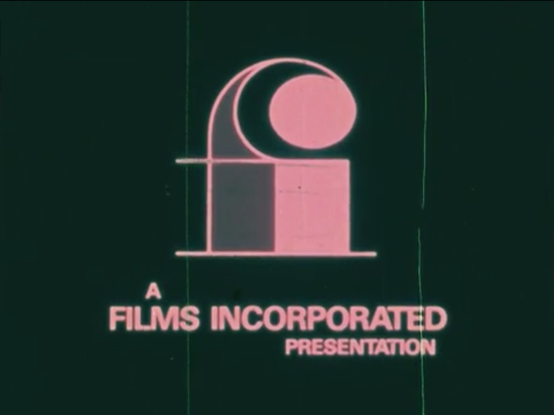Films Incorporated (Sepia and green background variant, 1971)