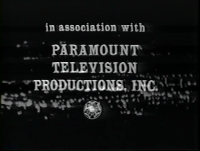 Paramount Television Productions (1960, in-credit)