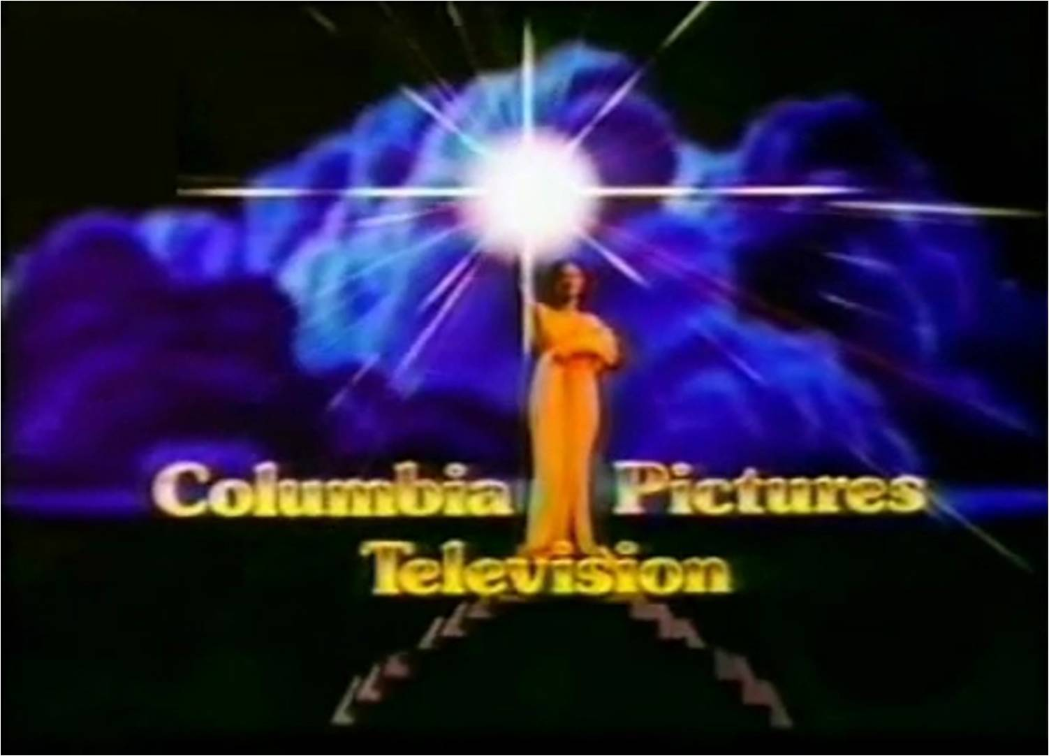 Columbia Pictures Television (1991, Purple/Gold)