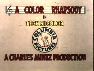 Color Rhapsodies ending from 1935