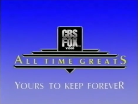 CBS/Fox Video All Time Greats logo (Closing)