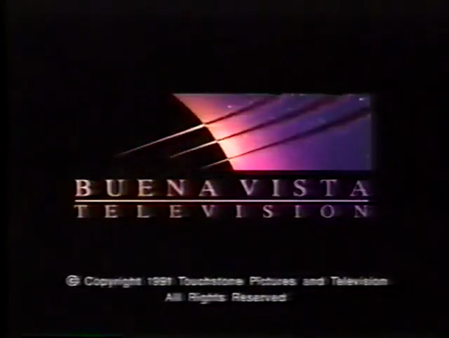 Buena Vista Television (1995, w/ 1991 Touchstone TV copyright stamp)