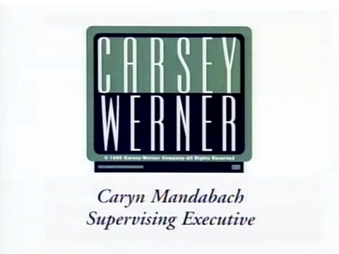 "Carsey-Werner Productions (1995, with the ""Caryn Mandabach"" caption)"