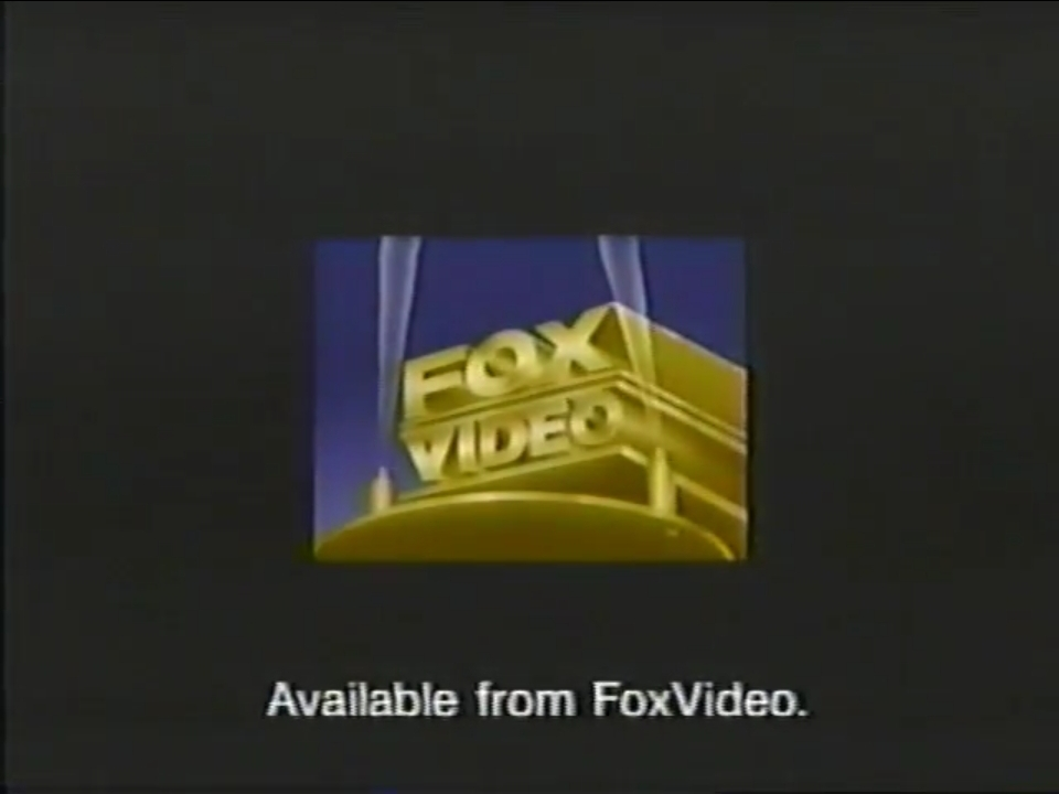 From FoxVideo (1992)